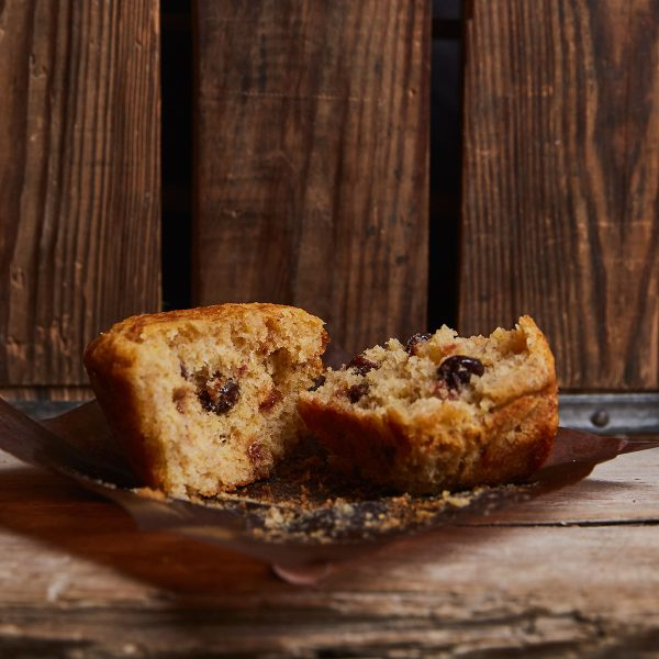 Multigrain with Sour Cherries Muffin