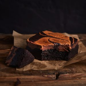 Nutella Cheescake Brownie